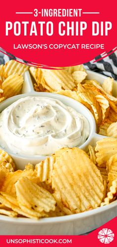Potato Chip Dip Recipe -- If you're a chips and dip junkie, you're going to LOVE this out-of-this-world easy chip dip. AND it doubles as a delicious veggie dip! Dip For Potato Chips, Dip For Tortilla Chips, Best Potato Chip Dip Recipe, Potato Chip Dips, Cream Cheese Chip Dip, Sour Cream Chip Dip, Chip Dip Recipes, Cheese Dip Recipes, Veggie Dip Recipes