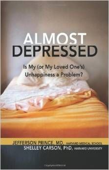 Almost depressed : is my (or my loved one's) unhappiness a problem?, Prince Jefferson B, 9781616491925, 3/19
