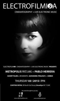 ELECTROFILMIKA Cinematography + Live Electronic...