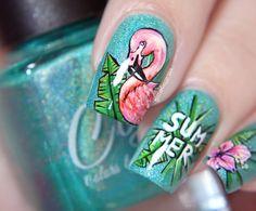 Летом Фламинго ~ Glitterfingersss на английском языке