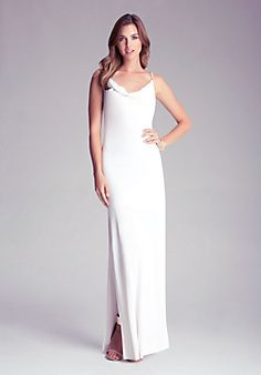 This is a Summer MUST HAVE!!  Long Cowl Neck Dress