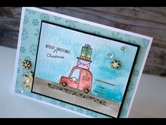 Tracy Mae Design: Holiday Card Series Day 2014 #14 - Sweet Stamp Shop + Distress Markers
