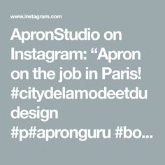 "ApronStudio on Instagram: ""Apron on the job in Paris! #citydelamodeetdudesign #p#apronguru #bootleggers_paris #thankyou #cedric"" Copper Color, Flamingo, Apron, Instagram, Design, Flamingo Bird, Flamingos, Aprons"