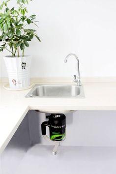 kitchen sink waste crusher