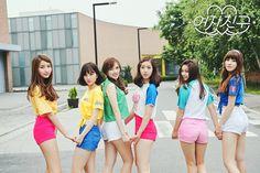 GFRIEND - LOL - Sowon + Eunha + Yerin + SinB + Umji + Yuju