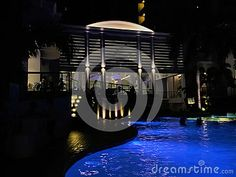 Photo about Night scene at one of the island resort in Mactan Island Cebu. Image of blue, relaxing, island - 93460668 Mactan Island, Island Resort, Cebu, Marina Bay Sands, Philippines, Editorial, Stock Photos, Night, Building