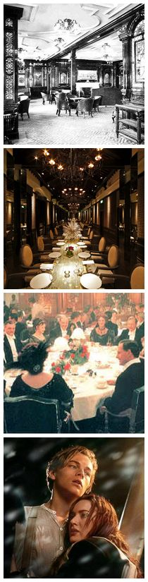 hullett house celebrates the 100th anniversary of the titanic - gourmet titanic dinner from 1912