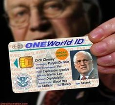 New World Order calls for Global Electronic Identity Card NOTE: Have no idea if this is real. World Government, Matrix, New World Order, First World, In This World, Persona, Believe, Shit Happens, History