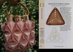 Chácara the mamma: Purse crochet triangles
