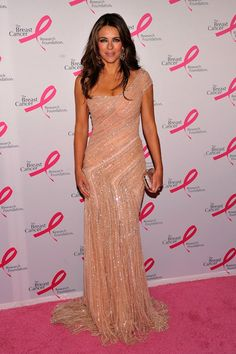 Elizabeth Hurley looks ageless at Hot Pink Party