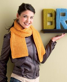 Basic Brioche Scarf (Free Knitting Pattern)