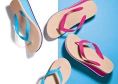 Our Pop Color Flip-Flops are sporty, super-bright and summer ready.