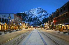 Cascade Mountain perfect backdrop for Banff, Alberta Canada the picturesque alpine ski town nestle in the Canadian Rockies Alberta Canada, Banff Canada, Banff Alberta, Ski Canada, Canada Snow, Montreal Canada, Oh The Places You'll Go, Places To Travel, Places To Visit