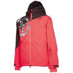 Für junge Boarderinnnen hat Chiemsee die farbenfrohe HAPPY J Schneejacke kreiert. Die Jacke sieht nicht nur stylisch aus, sie schützt auch vor dem Wetter und hält Ihr Mädchen warm und trocken. Der Schneefang hält den Schnee fern und ist das i-Tüpfelchen der Jacke. Stylisch über die Piste mit der Kinderjacke HAPPY J von Chiemsee....