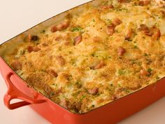 The Ultimate Potato Au Gratin - Thinly sliced potatoes are layered with bacon and cabbage and then smothered with a thick cream sauce and Parmesan cheese.