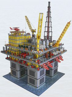 36 best Architecture lego structures and models images on Pinterest     Brick Lego  Lego Technic  Lego Architecture  Lego House  Oil Rig  Models   Mario  Platform  Lego Home
