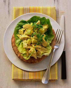 Curried Chicken Salad on Whole-Wheat Pitas - my favorite chicken salad ...