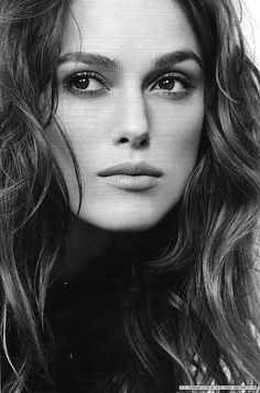 Makeup inspiration for black and white photography