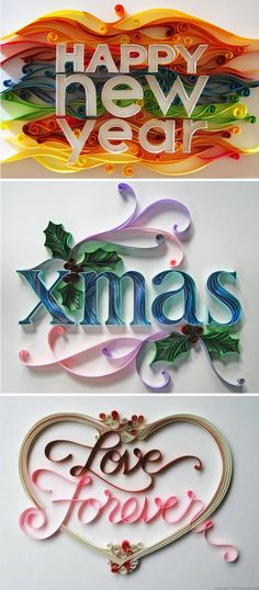 Amazing Quilling Work by Sabeena Karnik of Mumbai, India (Diy Beauty To Sell) Neli Quilling, Paper Quilling Designs, Quilling Paper Craft, Paper Crafts, Quilling Letters, Diy And Crafts, Arts And Crafts, Serpentina, Quilling Christmas