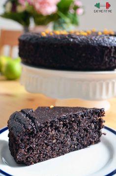 Przepis na ciasto czekoladowo-pomarańczowe bez mąki i tłuszczu – Eat Me Fit Me! :) Whitening Kit, Food And Drink, Sweets, Vegan, Cake, Desserts, Recipes, Fit, Pants
