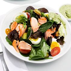 Smart Dinner Swap: Salmon nicoise salad: Scale not budging? Your diet could be out of whack. Shed some pounds (without much effort!) by switching up your go-to foods.