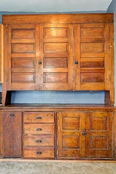 Kitchen built-in from 1917 home.