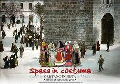 SPESA IN COSTUME – ORISTANO – SABATO 28 SETTEMBRE 2013 diversi commercianti faranno un bello sconto a chi ...