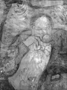 This hidden portrait has been revealed beneath Pablo Picasso's 'The Blue Room'! Read the whole story behind this unusual discovery at http://www.independent.co.uk/arts-entertainment/art/news/pablo-picasso-hidden-portrait-found-beneath-famous-painting-the-blue-room-9543243.html.