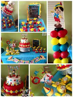 Disney Party Ideas: Pinocchio Party