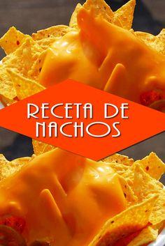 Aprende hacer Nachos con Queso de la manera tradicional méxicana... Toda una Gloria de la comida Rápida. Simbolo sin duda de la cocina de México!!!