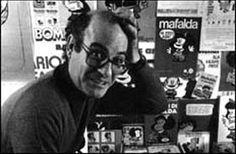 Quino. Sitio oficial de Quino - Ah, Quino y la linda familia de Mafalda, sus amigos, sus sueños, su mirada interesada por este mundo... Ah, Quino que nos regala todo este mundo de sus personajes... un mundo lleno de sueño, de verdad, de una verdad dicha por voces de niños... niños tan lindos! Sí, soy fanática de su trabajo, Quino! Qué persona tan interesante! Que trabajo tan especial, tan lindo, tan real! :)