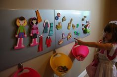 magnet center/sensory wall for daycare..... Next project coming soon.