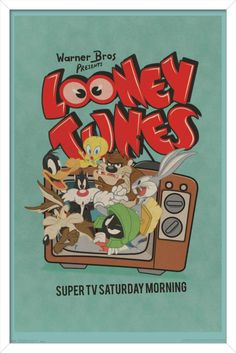 Looney Tunes - Group - Super TV Saturday Morning Poster