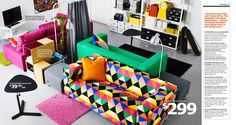 IKEA Catalogue 2015 - Crazy kids room couch!