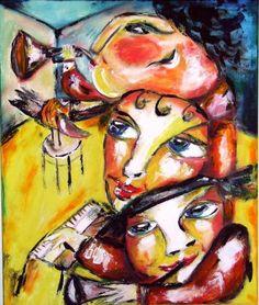 DIANA ART   JAZZOWI KUMPLE   W.PTICA   60 X 50