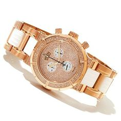 Invicta Reserve Women's Ocean Reef Swiss Made Quartz 1.38ctw Diamond Chronograph Bracelet Watch ShopNBC.com