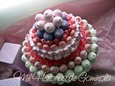 Tarta chuches / gominolas / bautizos/ comuniones/ bodas / cumpleaños