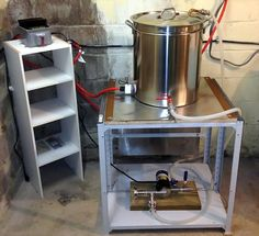 On today's FrontPage veteran homebrewer Phil Gowling shares with us his journey when going from gas powered stove top brewing to all electric brewing. It is also a story of one homebrewer's evolution from brewing simple extract recipes to brewing full volume all grain recipes on an automated system. If you are planning to change up your current brewing system, or are interested in learning more about some of the systems that are available, stop by and give us a read today.