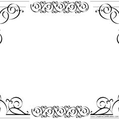 elgegant border for certificate template a part of under others template