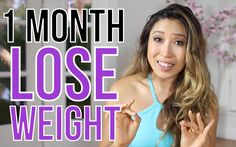 lose weight in a month!