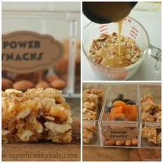 POWER BARS! Best energy for kids (send them with your little athletes!) www.superhealthykids.com