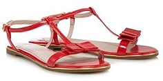 Womens scarlet faith bow sandal heels from Lipsy - £18 at ClothingByColour.com