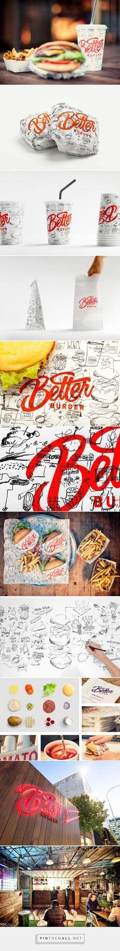 Diseño de etiquetas y empaques con tipografías divertidas para un restaurant