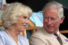 Prince Charles, Prince of Wales and Camilla, Duchess of Cornwall smile as they visit the Royal Welsh Show at Royal Wales Showground on 24 July  2013 in Builth Wells, Wales.