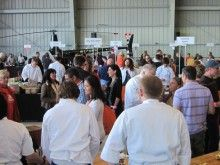 Monterey Wines Take Off at Party in the Hangar | Wine Oh TV | Wine Videos, News and Reviews
