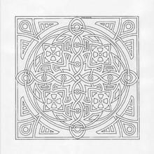 Mandala 166 - Coloring page - MANDALA coloring pages - Mandalas for EXPERTS