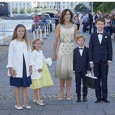 Danish Royal gathered to celebrate Prince Nikoolai birthday