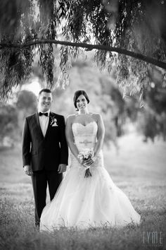 MARGEAUX AND BRUNO  Photo By Tyme Photography Wedding Couples, Wedding Day, One Shoulder Wedding Dress, Dreams, Wedding Dresses, Photography, Beauty, Style, Fashion