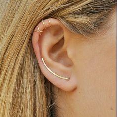 Piercing Earring Tragus Hoop Fake septum Helix von Benittamoko