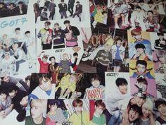 GOT7 JYP Got7 Photo Card 12pcs Stlcker 3pcs Post Card K-pop Kpop Idol Star Coods